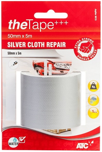 Silver Cloth Repair Tape