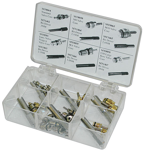 Valve Core & Bit Driver Assortment Kit
