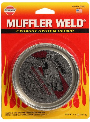 Muffler Weld Repair & Sealer