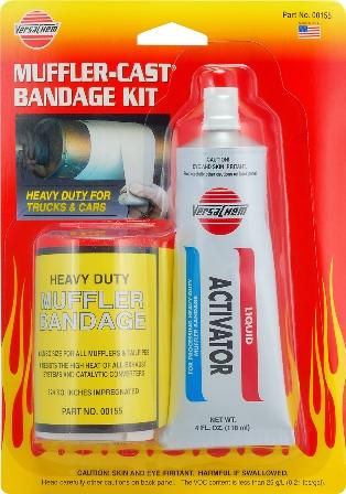 Muffler Cast - Heavy Duty Bandage Kit