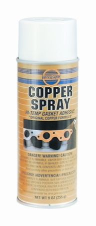 Copper Spray Gasket Adhesive