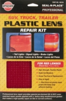 Plastic Lens Repair Kit - Red